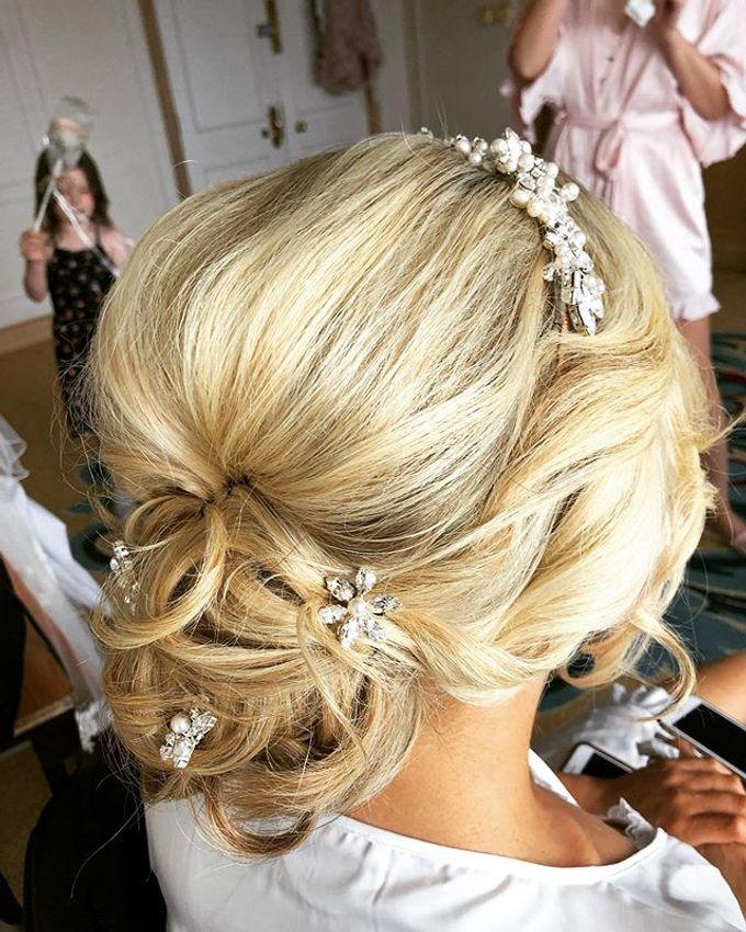 Bridal & events hair  by Danielle Marouzet Hair Design - 005