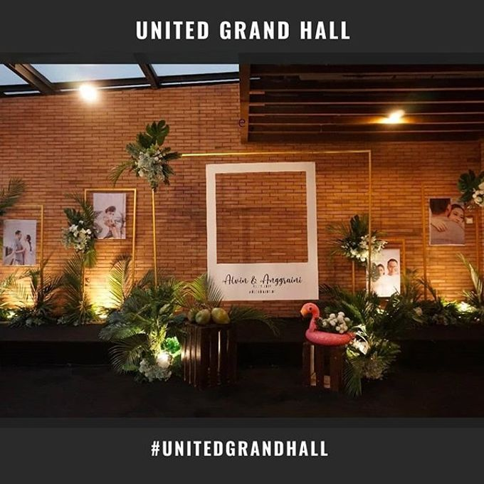 ALVIN ANGGRAINI WEDDING by United Grand Hall - 004