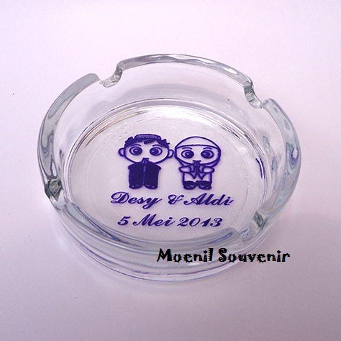 Gelas, Mug, Asbak kaca :) by Moenil Souvenir - 021