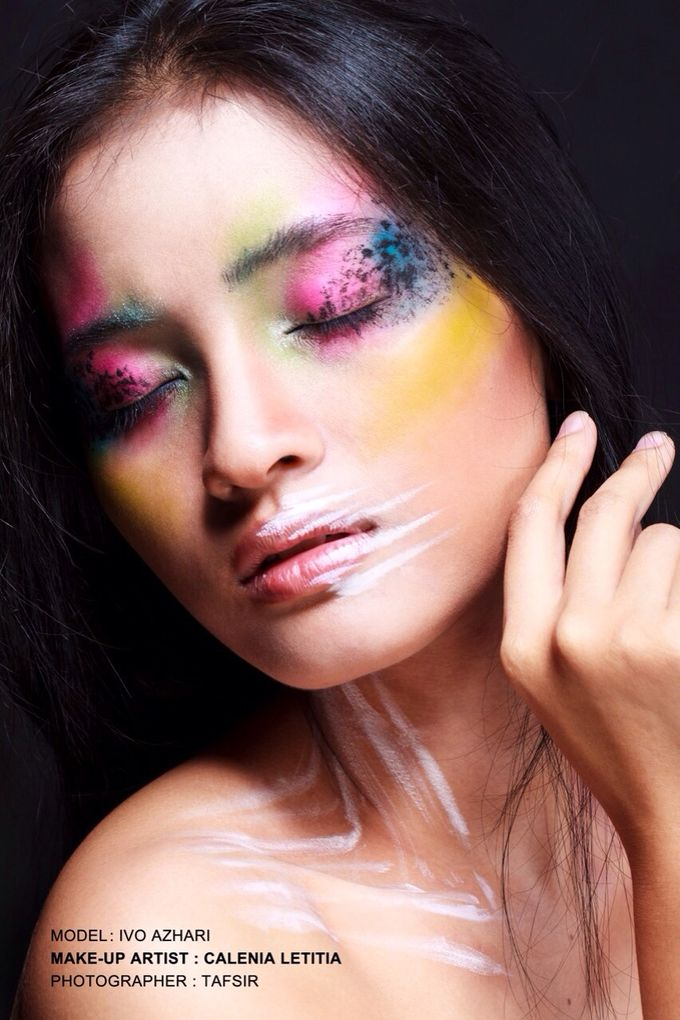 Beauty & Art Makeup Photoshoot by Calenia Letitia Makeup Artist - 002