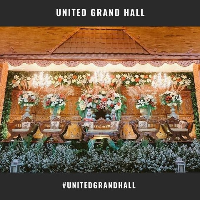AYU & NOVIT WEDDING by United Grand Hall - 002