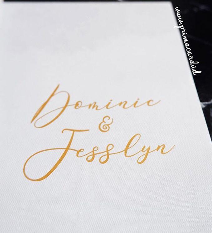 Wedding of Dominic & Jesslyn by Prima Card - 001