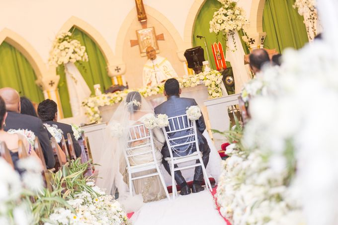 Wedding of Roshani & Charith by DR Creations - 042