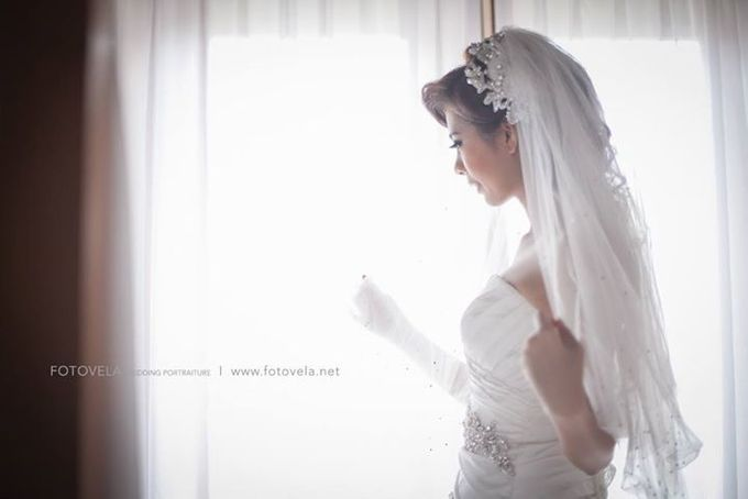 TOFID & STEFFI WEDDING DAY  I  AYANA RESORT BALI by fotovela wedding portraiture - 013