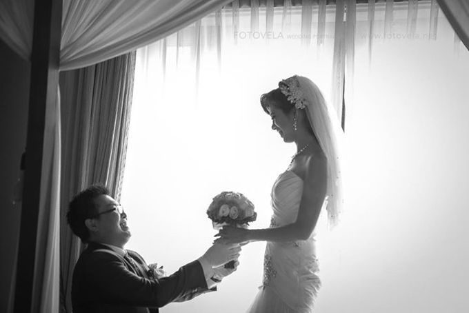 TOFID & STEFFI WEDDING DAY  I  AYANA RESORT BALI by fotovela wedding portraiture - 016