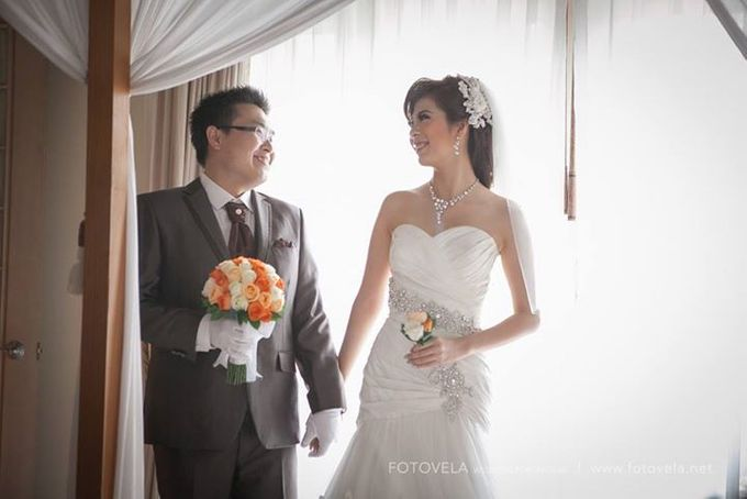 TOFID & STEFFI WEDDING DAY  I  AYANA RESORT BALI by fotovela wedding portraiture - 019