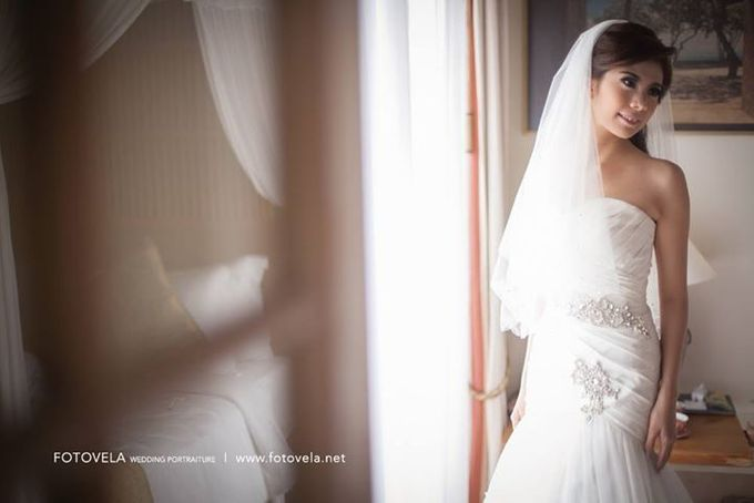 TOFID & STEFFI WEDDING DAY  I  AYANA RESORT BALI by fotovela wedding portraiture - 021