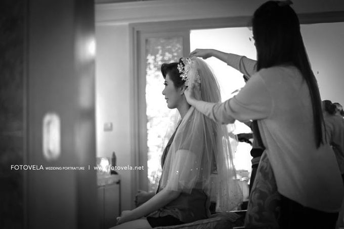TOFID & STEFFI WEDDING DAY  I  AYANA RESORT BALI by fotovela wedding portraiture - 004
