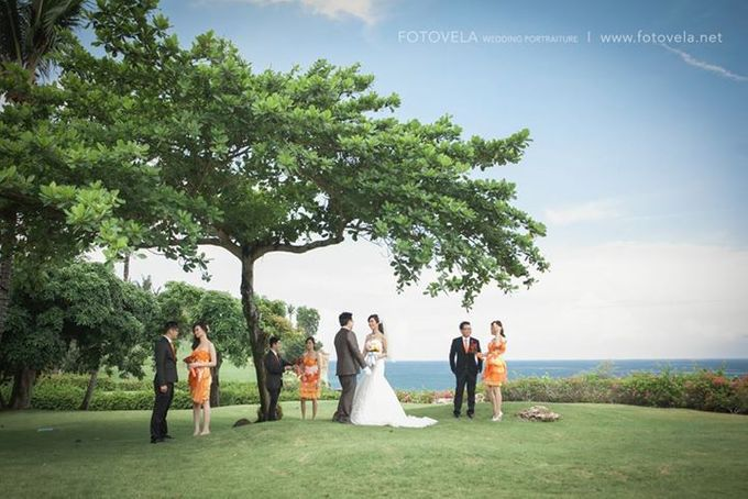 TOFID & STEFFI WEDDING DAY  I  AYANA RESORT BALI by fotovela wedding portraiture - 032
