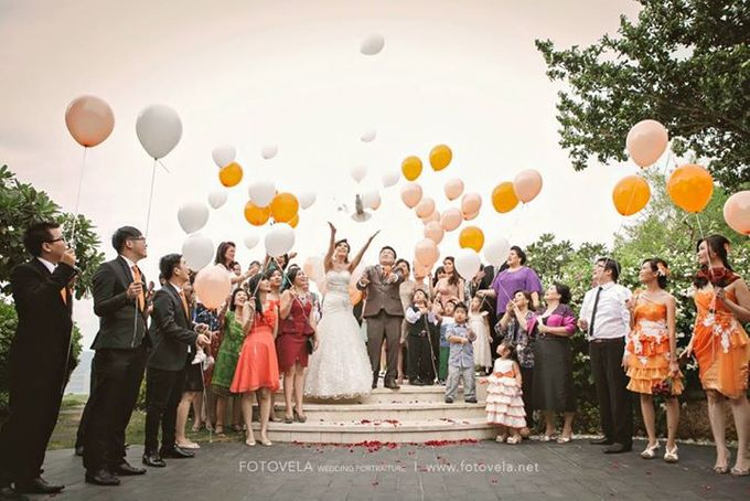 TOFID & STEFFI WEDDING DAY  I  AYANA RESORT BALI by fotovela wedding portraiture - 033