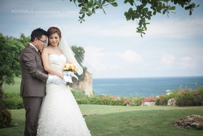 TOFID & STEFFI WEDDING DAY  I  AYANA RESORT BALI by fotovela wedding portraiture - 034