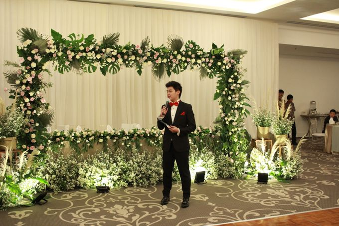 MC Wedding The Tribrata Dharmawangsa Hotel Jakarta - Anthony Stevven by Anthony Stevven - 013