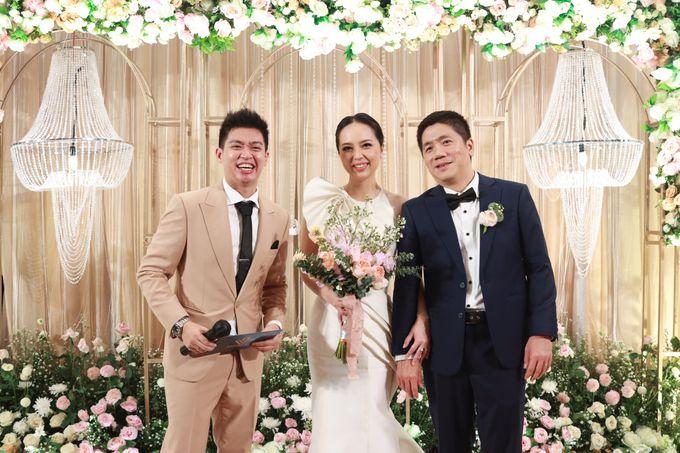 Fine Dinning Intimate entertainment wedding at Alto Restaurant Four Seasons Jakarta - Double V Entertainment by Hian Tjen - 016