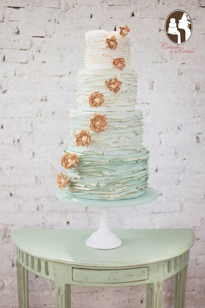 The Wedding Cake of Jessie by Creme de la Creme Bali - 001