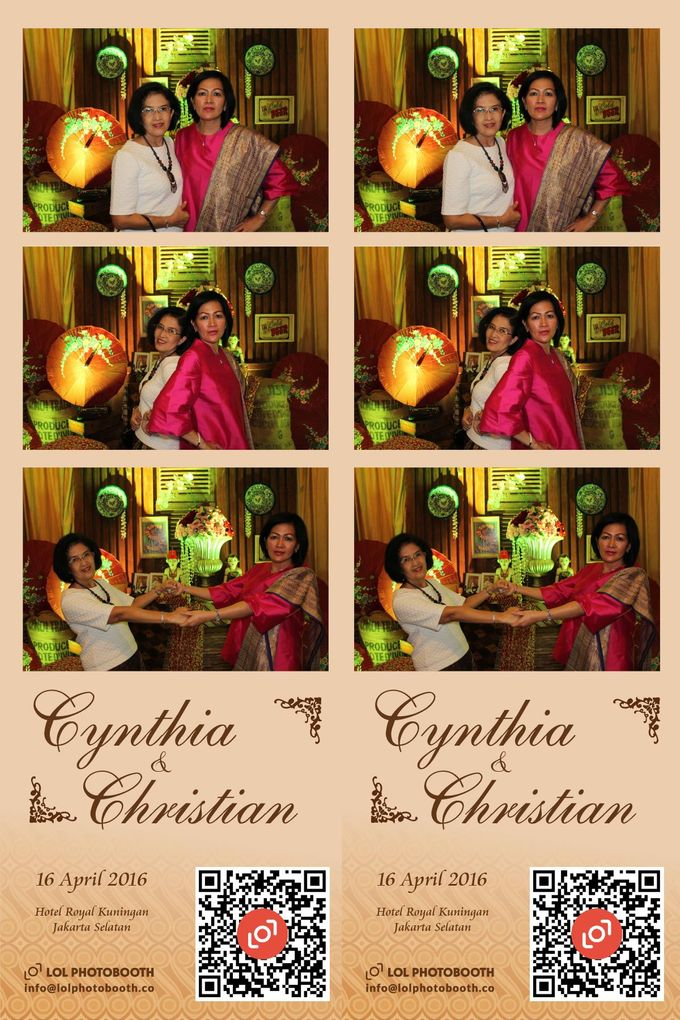 Wedding of C & C by lolphotobooth.co - 005