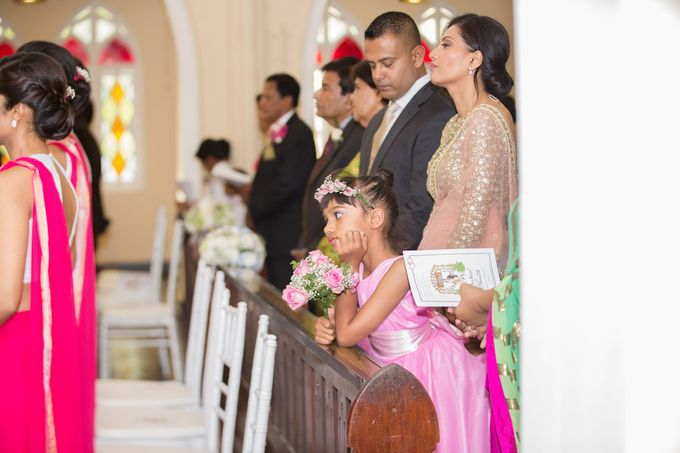 Wedding of Roshani & Charith by DR Creations - 043