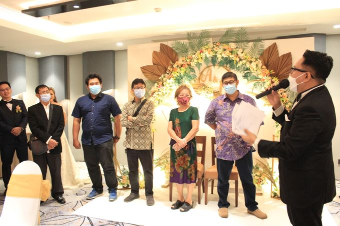 MC Wedding Double V Entertainment at JHL Solitaire Serpong by Double V Entertainment - 007
