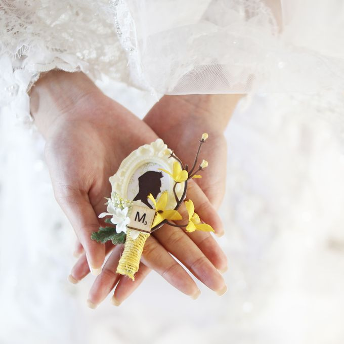 Custom Boutonniere / Corsage by The Bride and Butter - 014