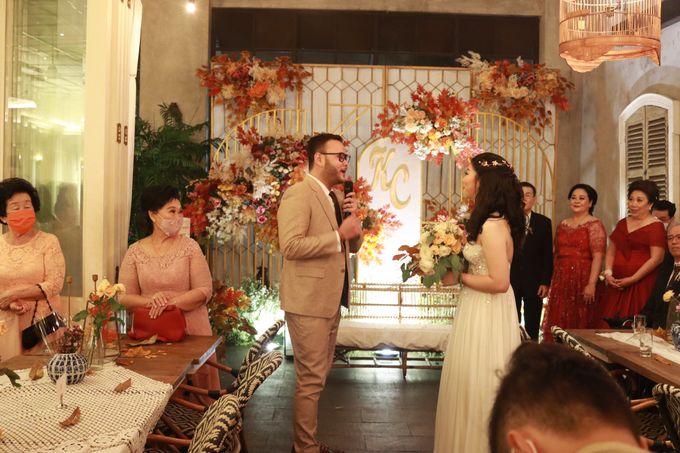 MC Wedding Intimate at Blue Jasmine Jakarta - Anthony Stevven by Anthony Stevven - 012