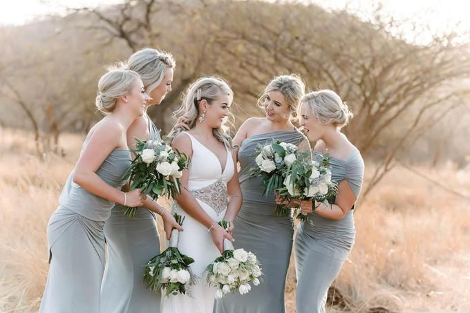 Sage and white wedding Flowers by Ethereal Events Co. - 005