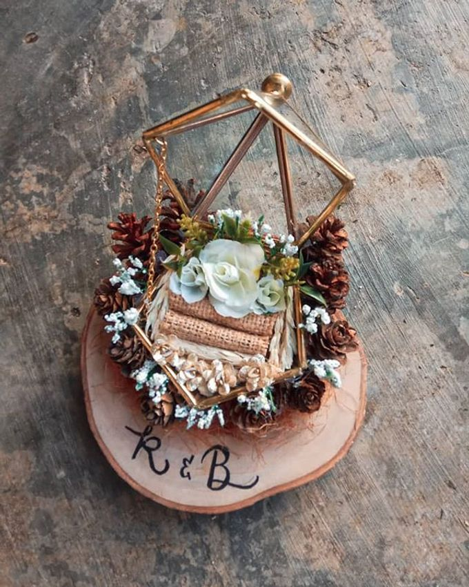 RUSTIC RING BOX by our.decoration - 001