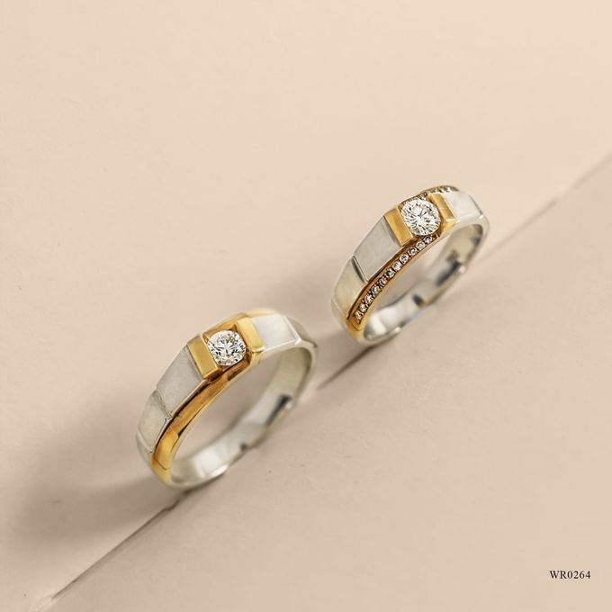 Wedding Ring WR0264 by V&Co Jewellery - 001