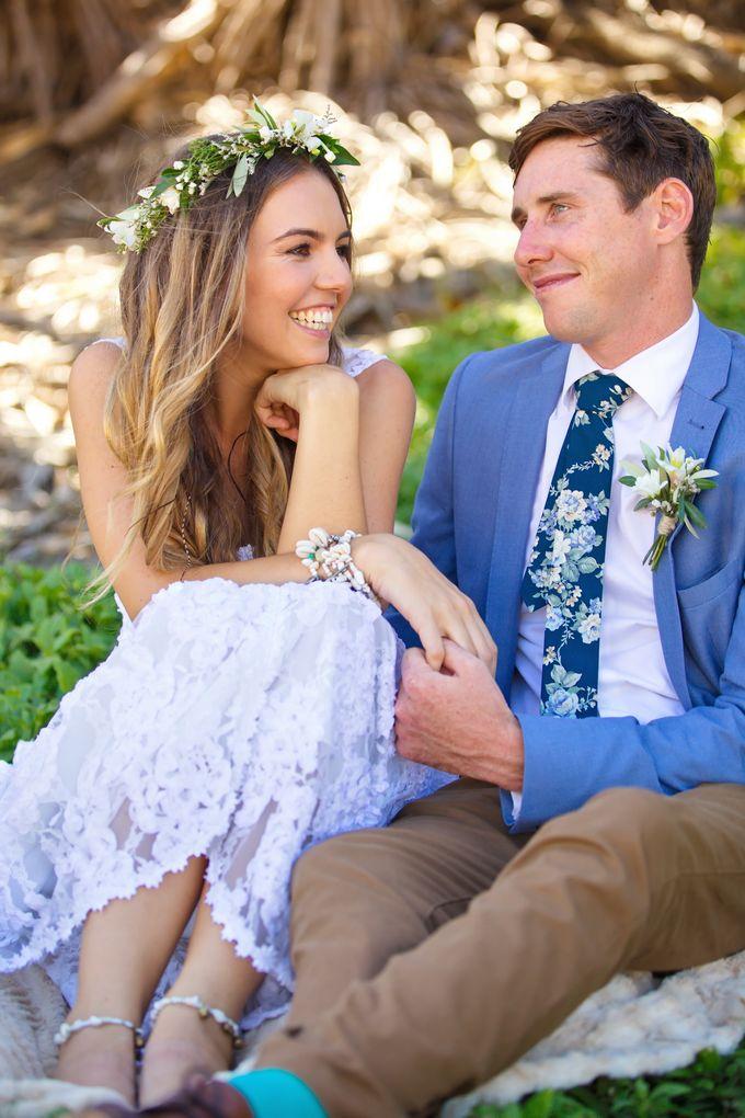 Paige & Pauls Boho Wedding by Dream Bella Photography - 007
