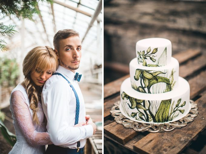 Botanic styled wedding by Caramel Events - 039