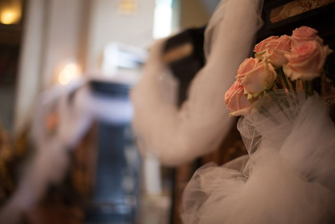 Romantic light pink wedding by Sogni Confettati - 013