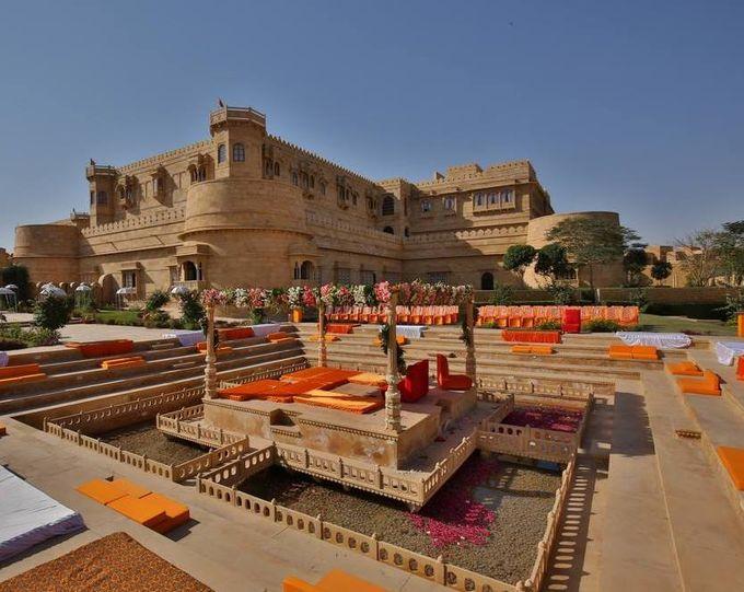 wedding at jaisalmer by Yesha Weddings Destination Wedding Planner - 007