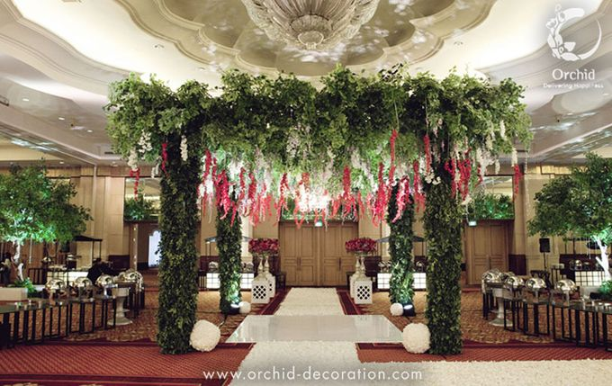 Life began in a garden by Orchid Florist and Decoration - 008