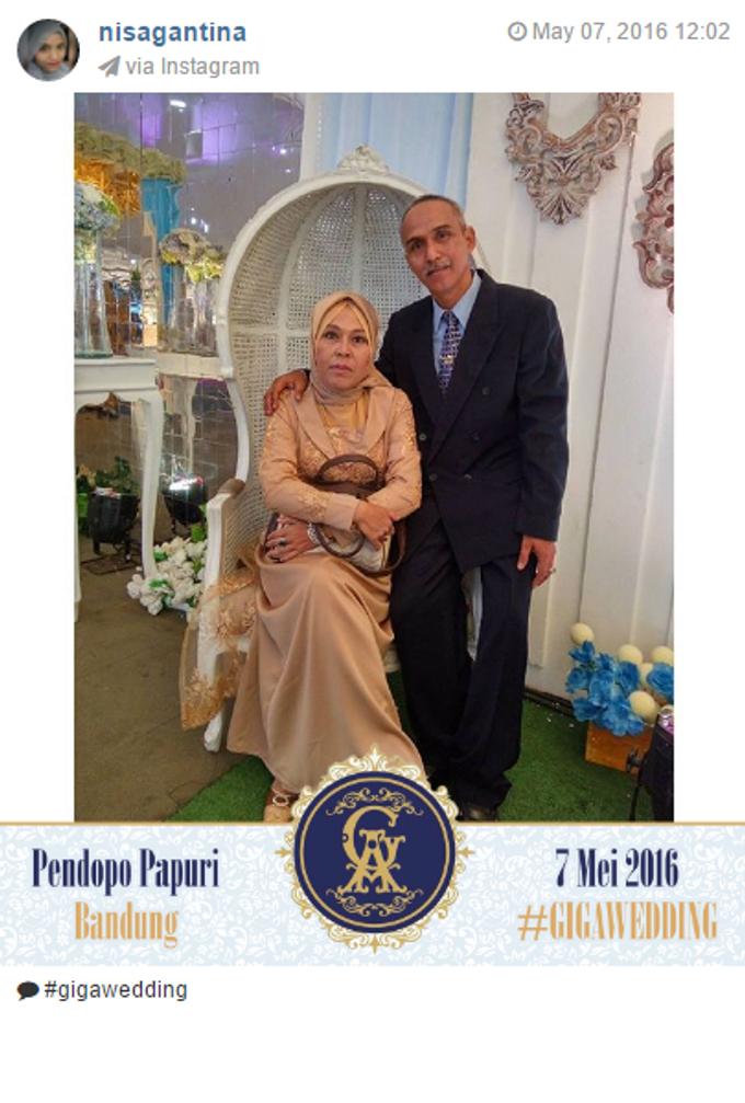 Pernikahan Gina & Angga by Jepret Allegra Instant Print - 007