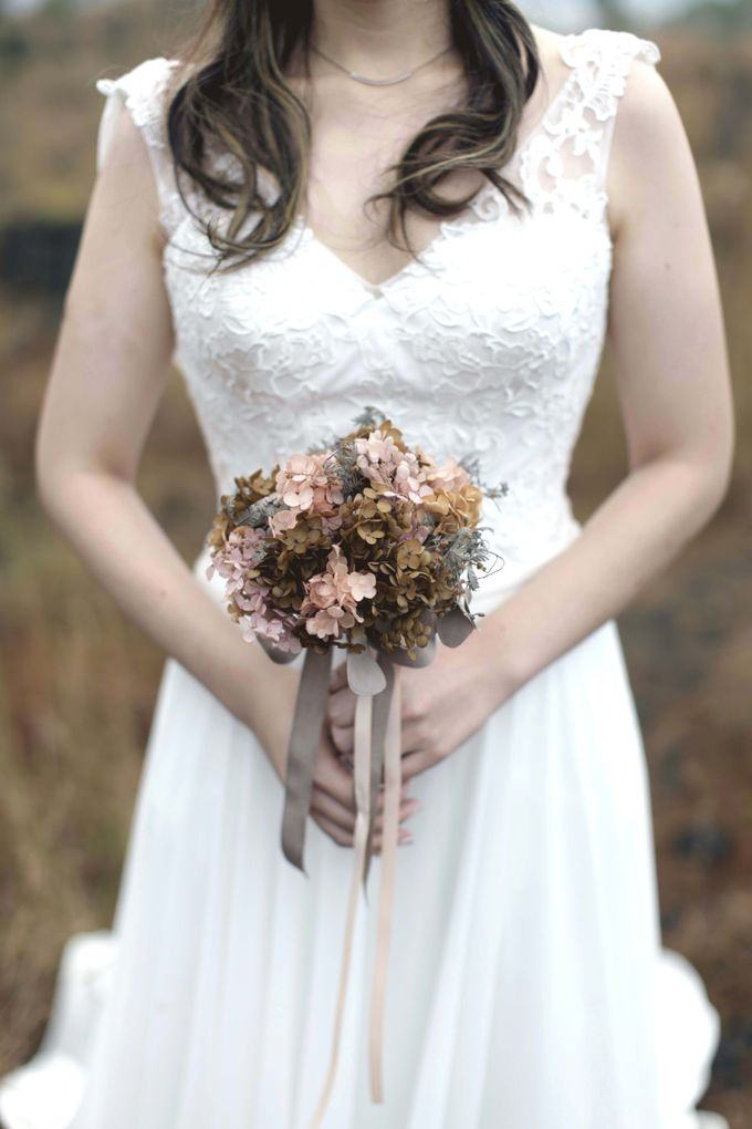 Preserved Bridal Bouquet by One Olive - 007