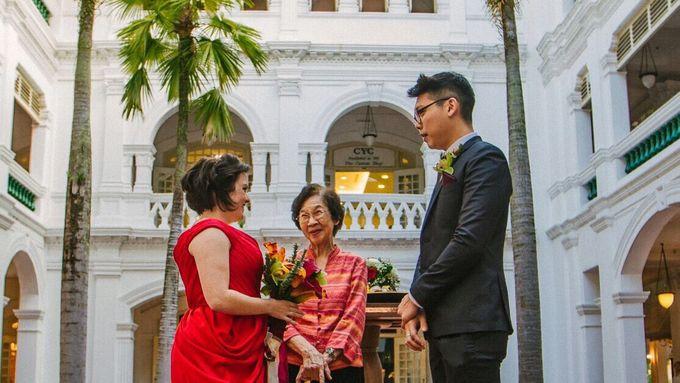 Wedding of Ian & Kelly @ Halia at Raffles Hotel by The Halia - 007