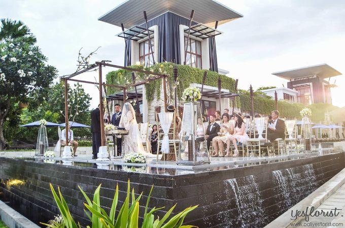 Wedding of Michael & Stella by Bali Yes Florist - 002