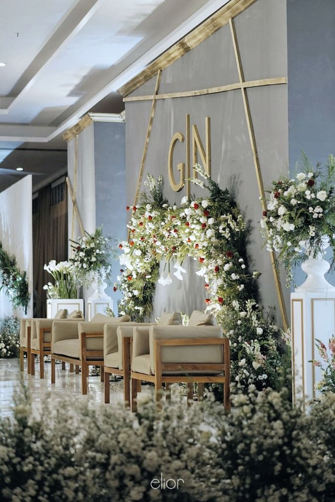 Simple Meets Elegant in This Dreamy Wedding Celebration by Elior Design - 024