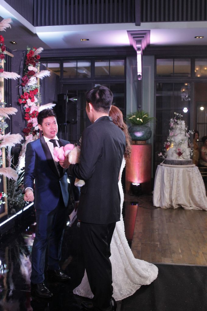 MC Wedding Intimate Suasana Restaurant Jakarta - Anthony Stevven by Anthony Stevven - 018