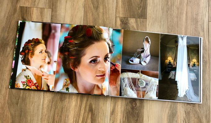 Modern wedding album by Bespoke Albums - 002