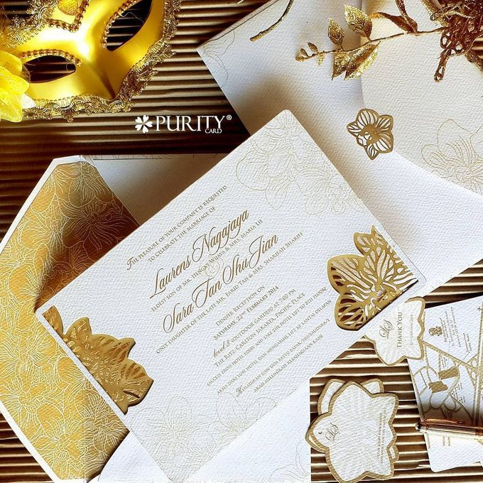'The White Gatsby' Invitation by PurityCard - 007