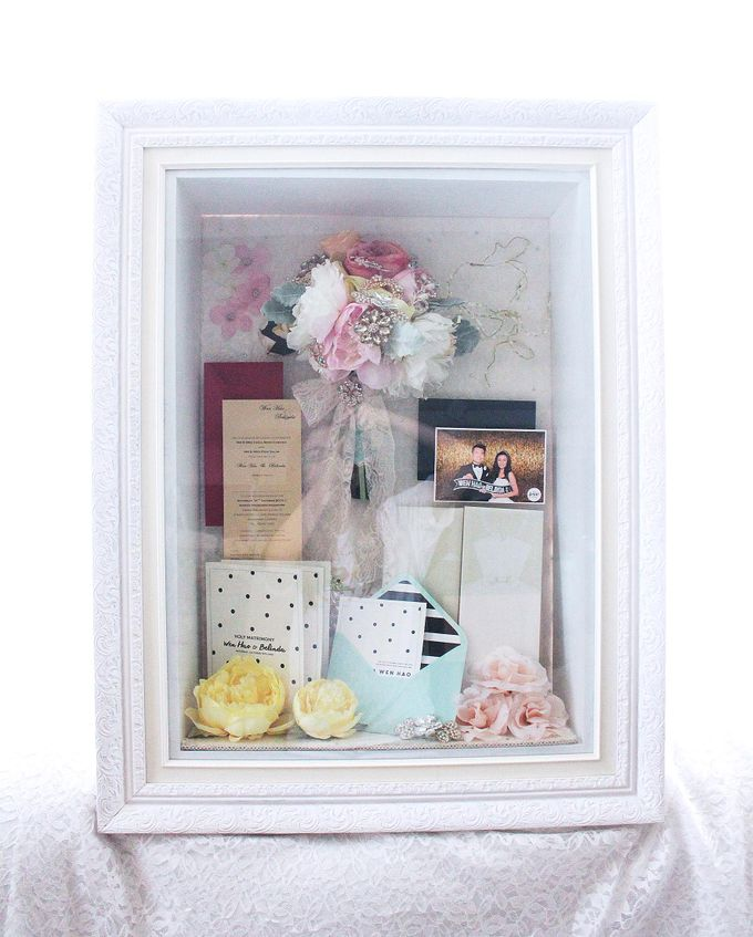 Frame Bouquet by Cup Of Love Design Studio - 012