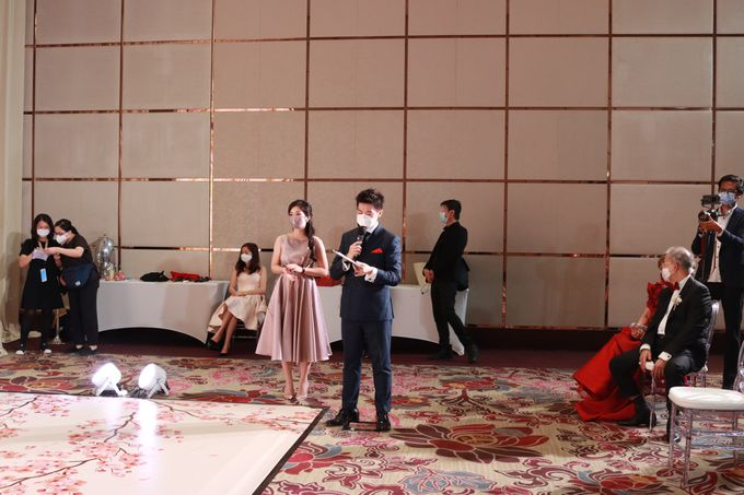 MC Teapai and New Normal Intimate Wedding Fairmont Hotel Jakarta - Anthony Stevven by Anthony Stevven - 020