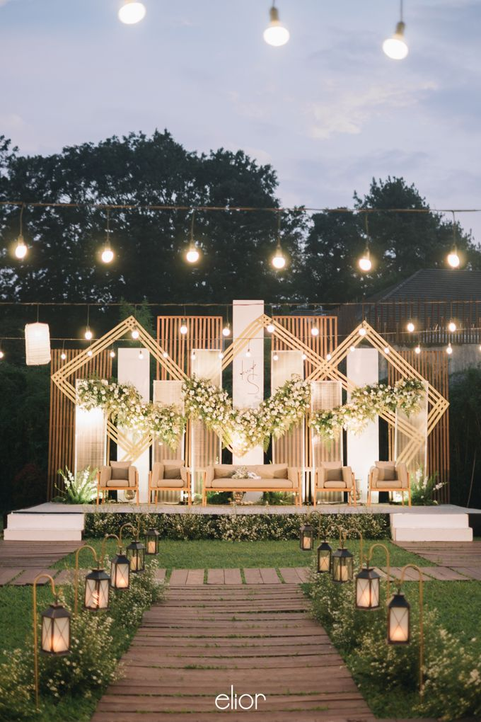 The Wedding of Henry and Stefanie by Elior Design - 013