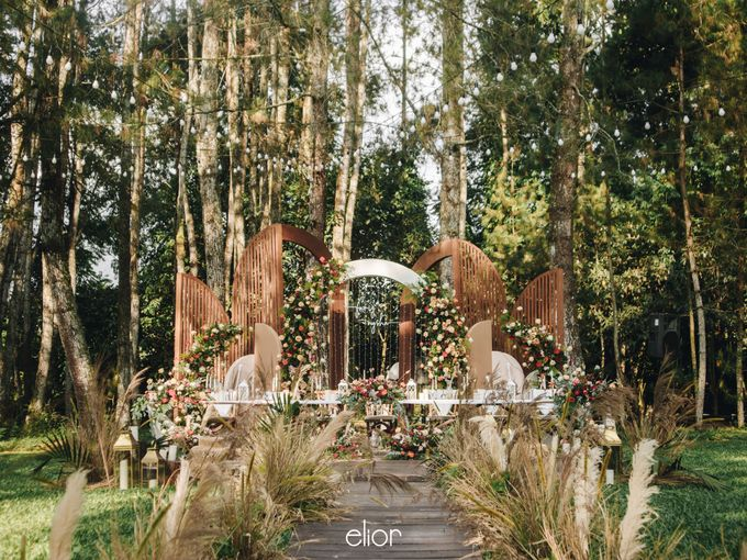 The Wedding of Nysha and Fariz by Elior Design - 025