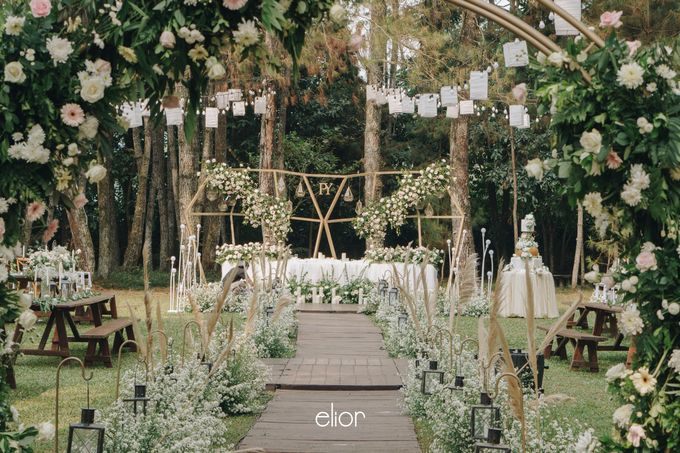 The Wedding of Peter and Yenni by Elior Design - 018