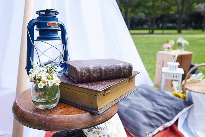 Picnic Wedding at the Park by Megu Weddings - 008