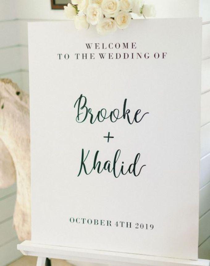 Brooke & Khalid Wedding by Bali Brides Wedding Planner - 008
