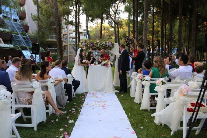 Tatyana & Vladimir Kazakh Wedding in Antalya by Wedding City Antalya - 009