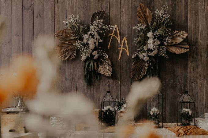 Aisyah & Aziz Wedding at Azila Villa by AKSA Creative - 006