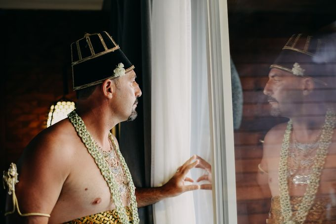 Chad and Lia Wedding by Jimbaran Bay Beach Resort and Spa - 007