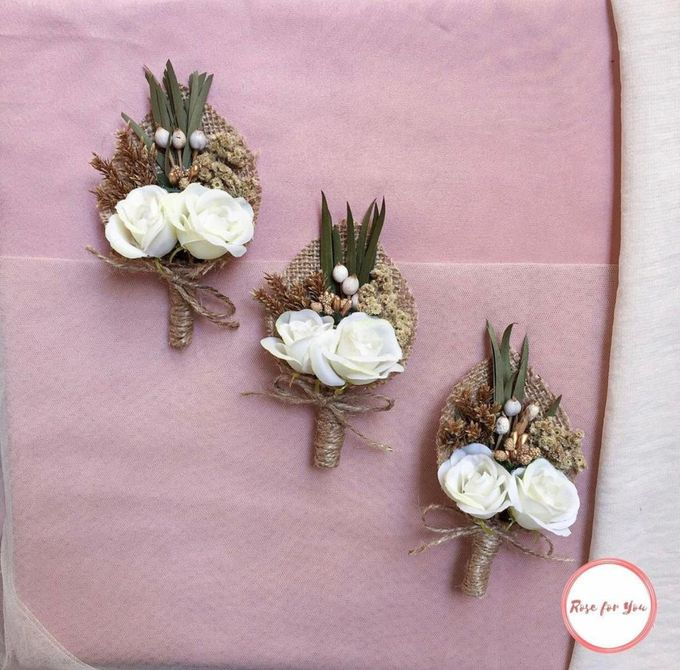 Boutonniere & Corsage by Rose For You - 008
